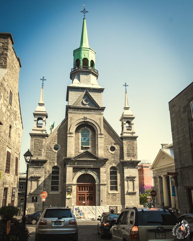 モントリオールのノートルダムボンスクール教会