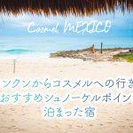 【コスメル島】カンクンからの行き方・おすすめシュノーケルポイント・泊まった宿