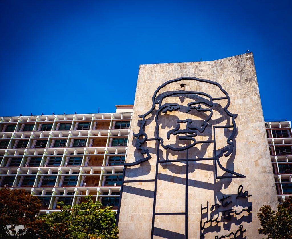 ハバナのチェゲバラ像