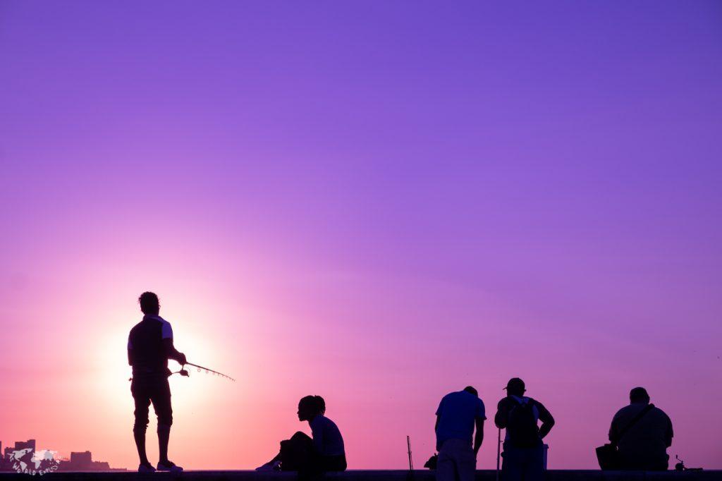 ハバナの夕日