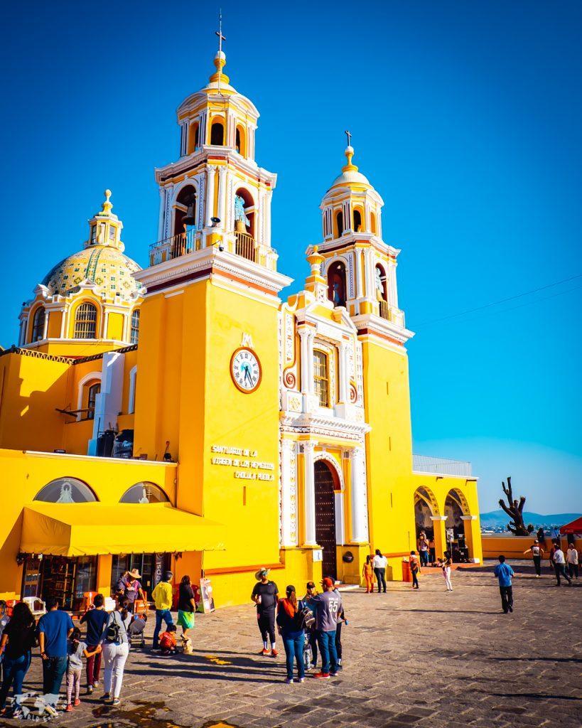 プエブラのチョルーラの教会