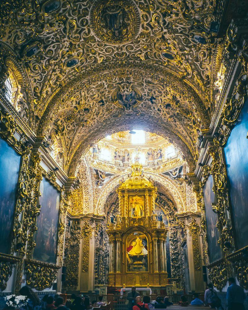 プエブラシティの教会