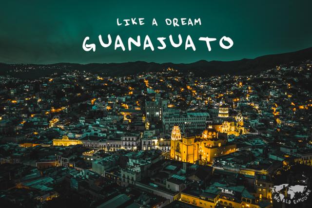 メキシコ 夜景 グアナファト