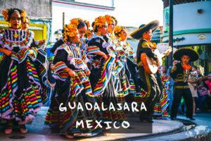 メキシコのグアダラハラにて 子供のダンス
