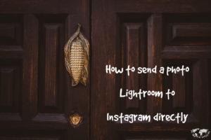 LightroomからInstagramに一気にアップする方法 プラグインの導入 使える写真編集術01