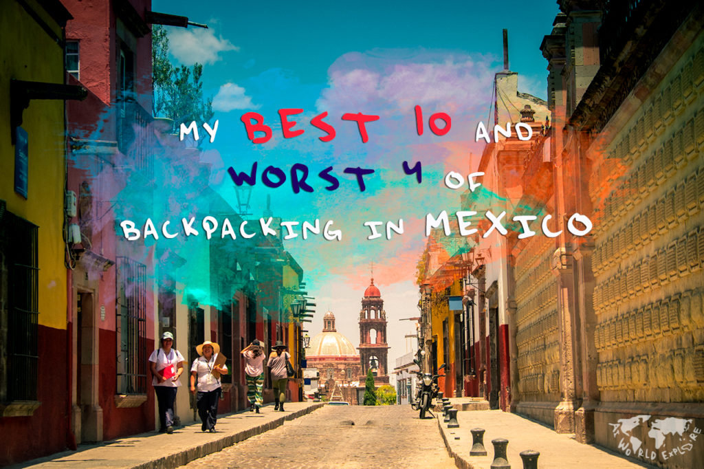メキシコ サン・ミゲル・デ・アジェンデにて