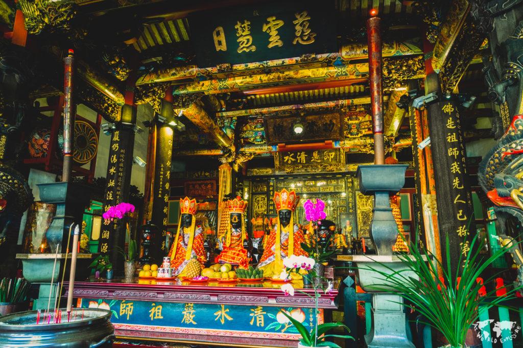 台湾台北のお寺