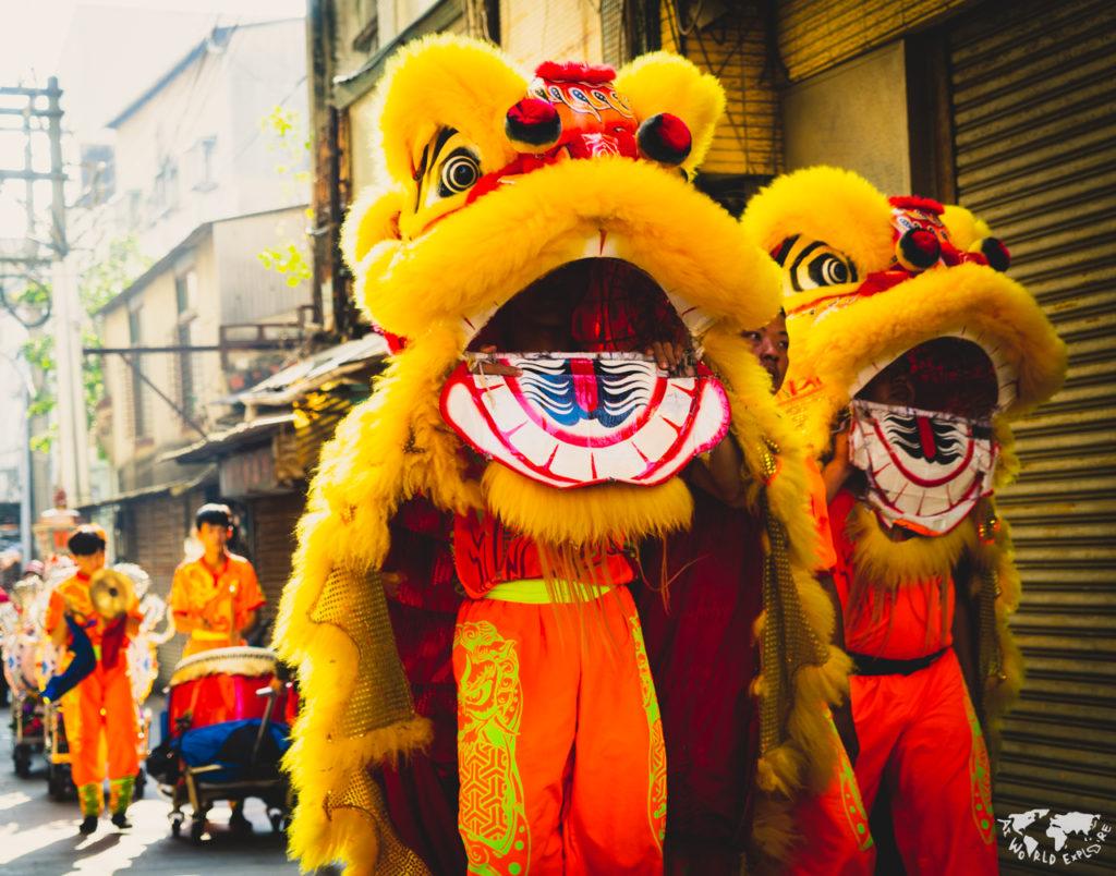 台湾台北のお祭り