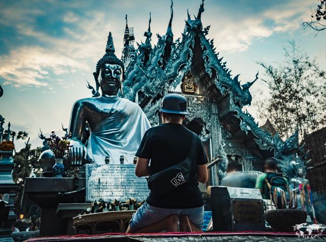 チェンライのシルバーテンプル銀の寺