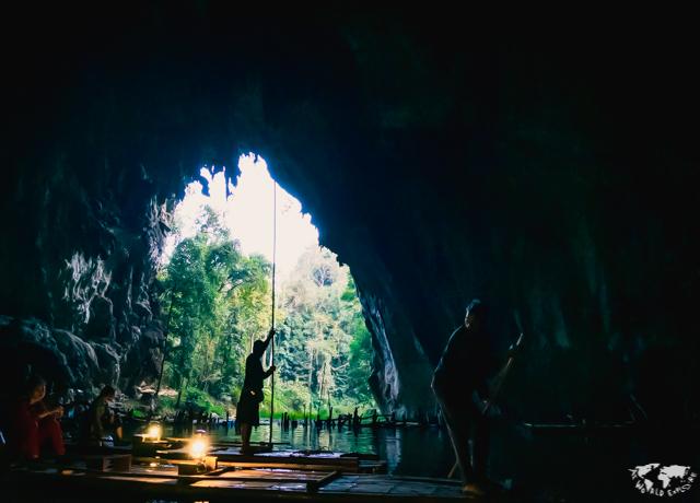 タムロッド洞窟 タイ チェンマイ パイ