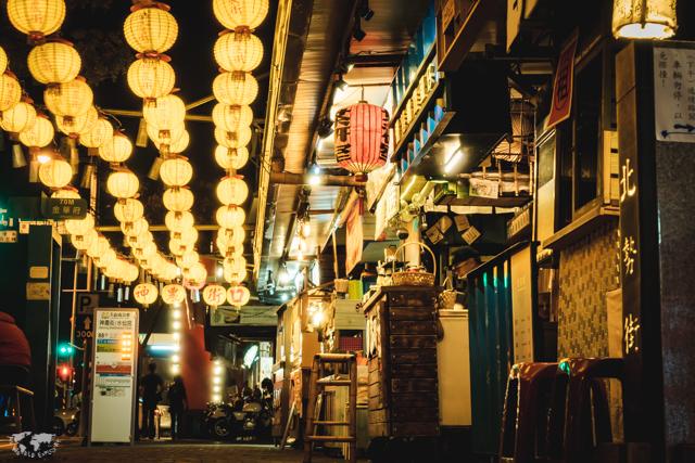 台湾 台南の神農街ストリート