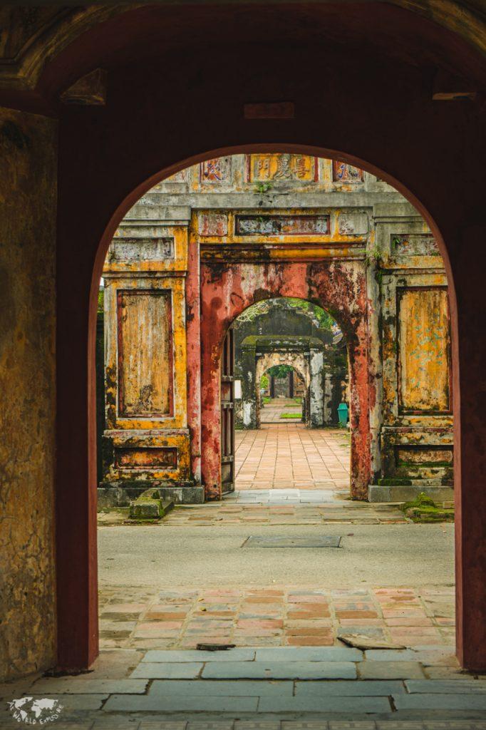 ベトナムフエにあるフエ王宮