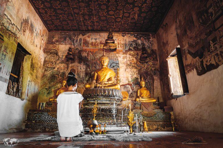 ルアンパバーンのお寺