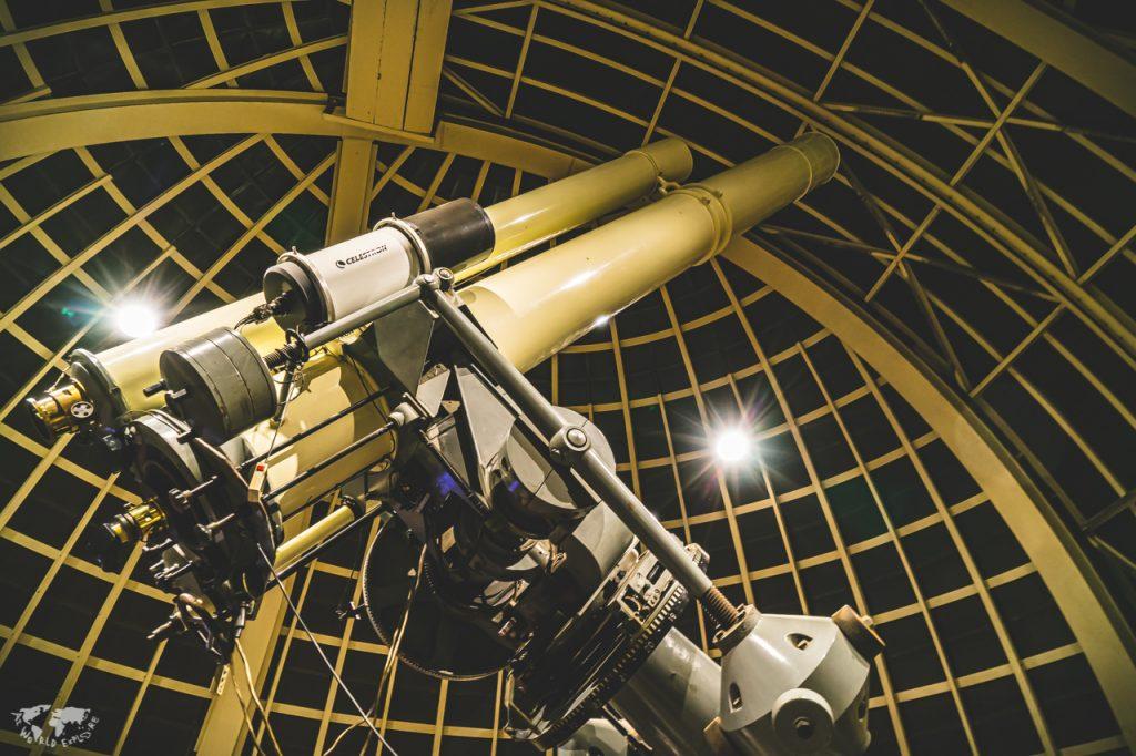 ロサンゼルスのグリフィス天文台の望遠鏡