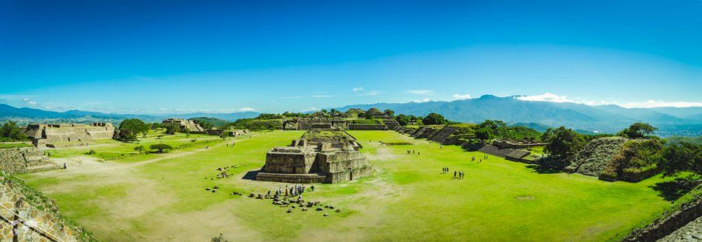 オアハカモンテアルバン遺跡の全貌