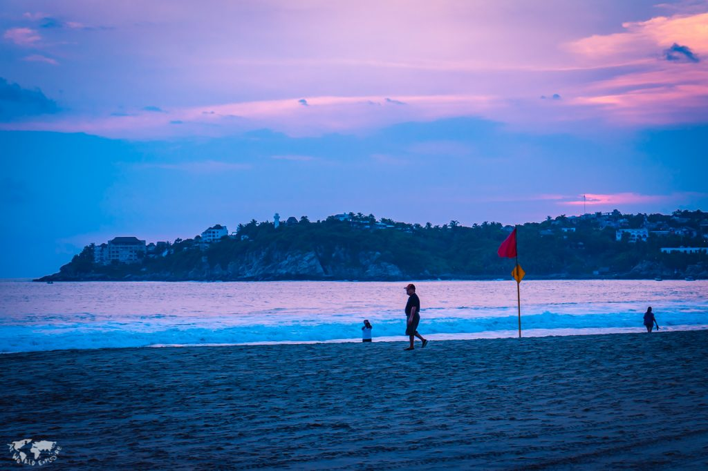 プエルトエスコンディードのビーチ