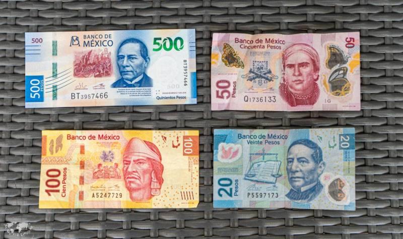 メキシコの紙幣