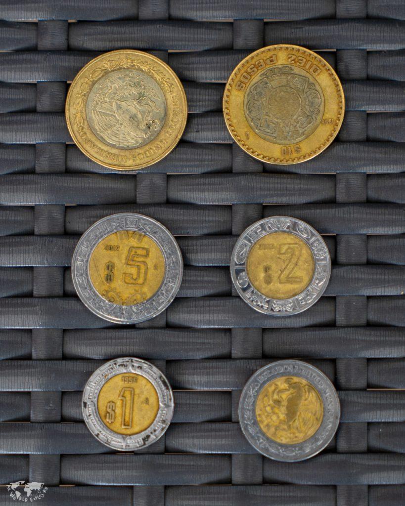 メキシコのコイン