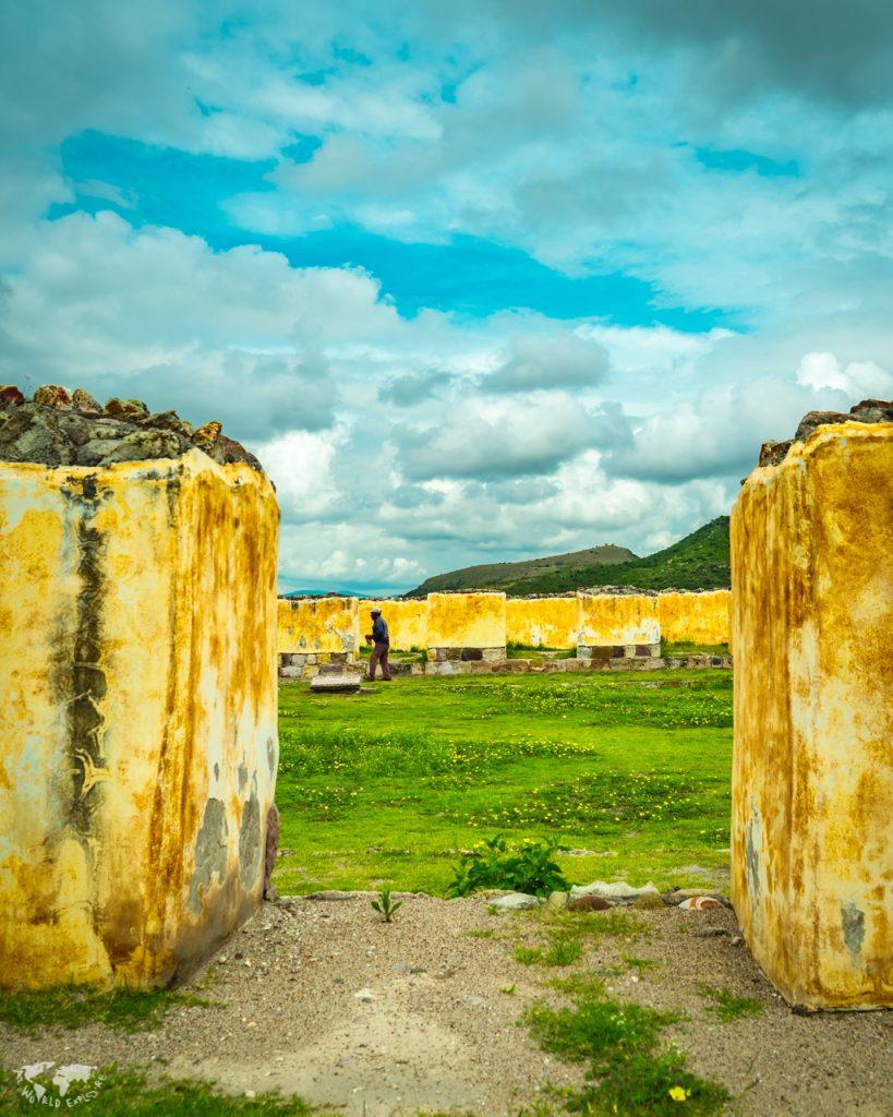 メキシコ オアハカのヤグル遺跡