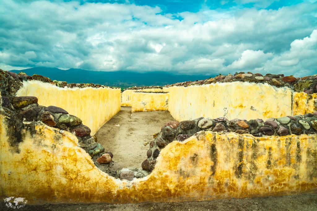 メキシコ オアハカ ヤグル遺跡