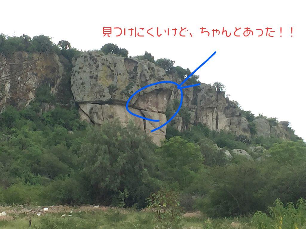 メキシコ オアハカ ヤグル遺跡の壁画