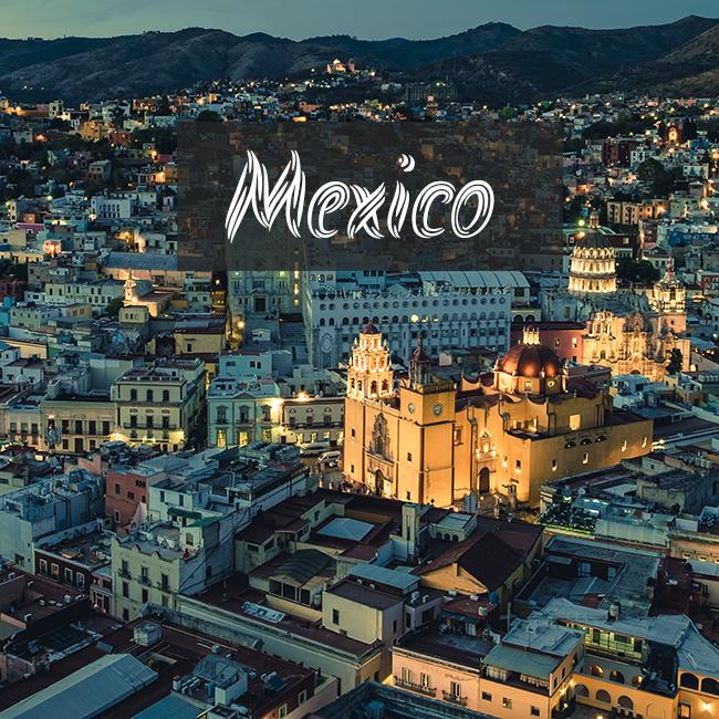 メキシコの風景