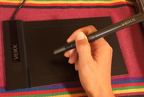 VEIKKペンタブレットの付属ペン
