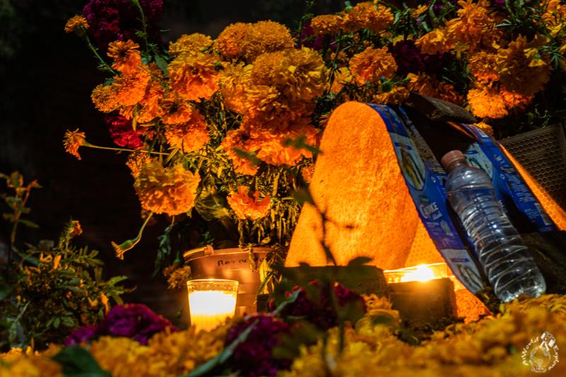 オアハカの死者の日のお墓