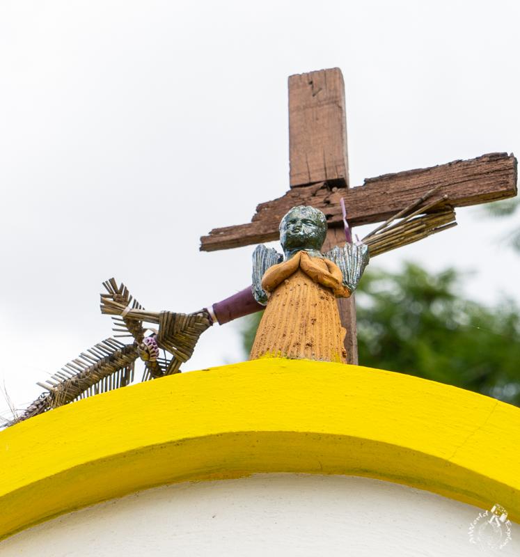 オアハカのアツォンパ村の天使