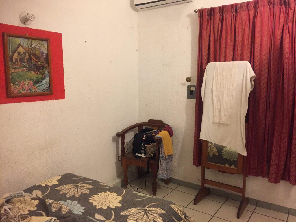 タパチュラで泊まったホテルの部屋