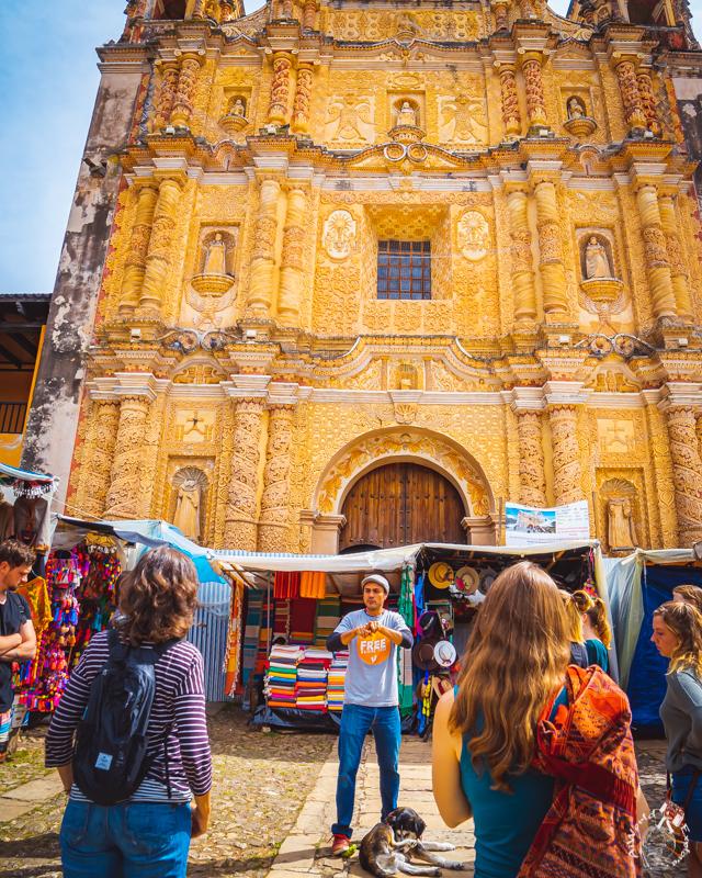 メキシコのサンクリストバルデラスカサスの教会