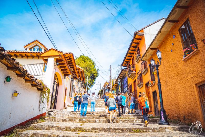メキシコのサンクリストバルデラスカサスのフリーウォーキングツアー