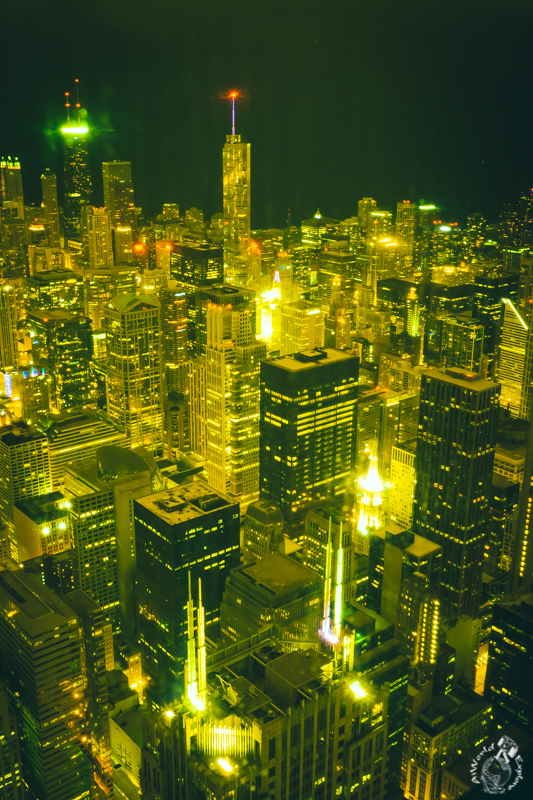スカイデッキ Skydeck Chicago – Willis Tower