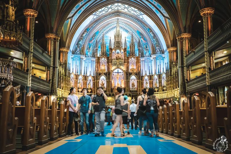 モントリオールノートルダム大聖堂 Notre-Dame Basilica Montreal