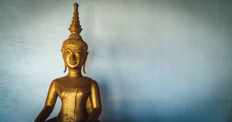 ラオスの仏像