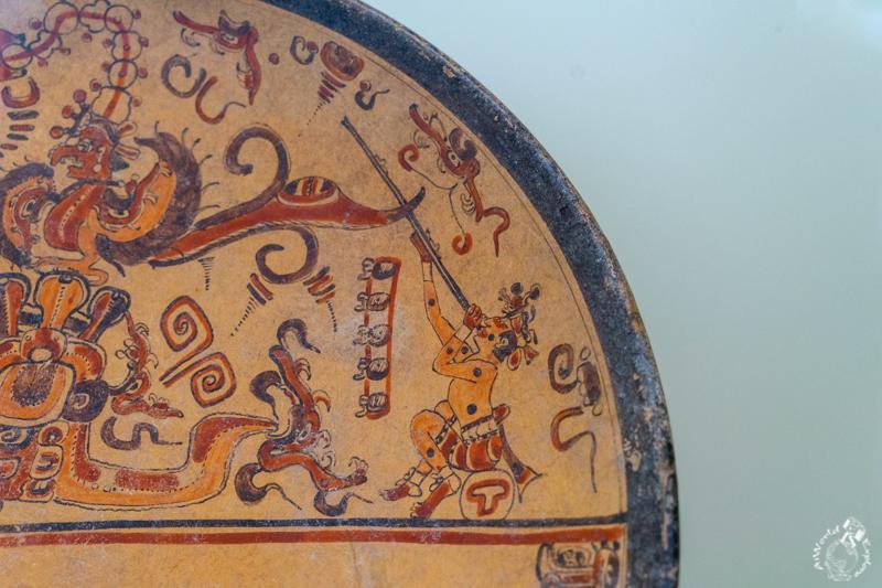 マヤ博物館の展示品
