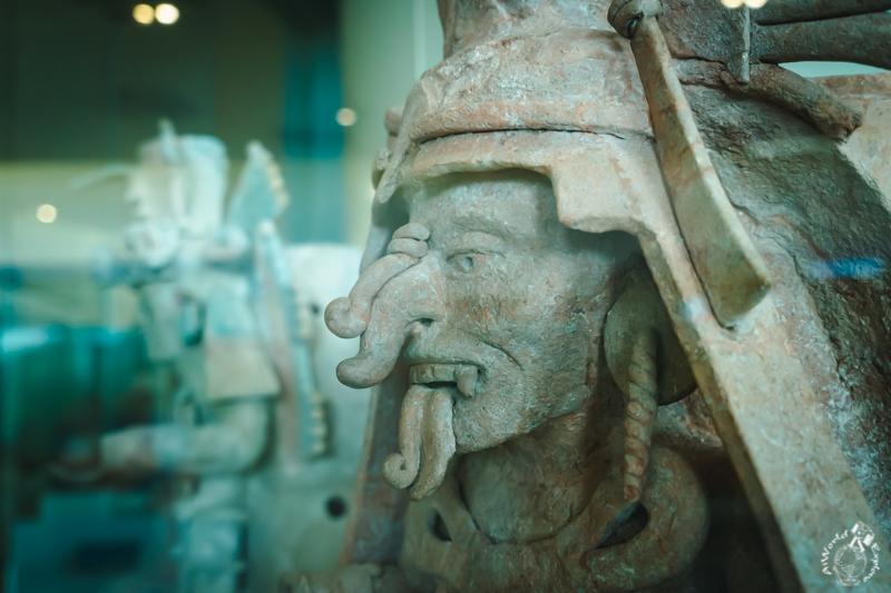カンクンマヤ博物館の展示物
