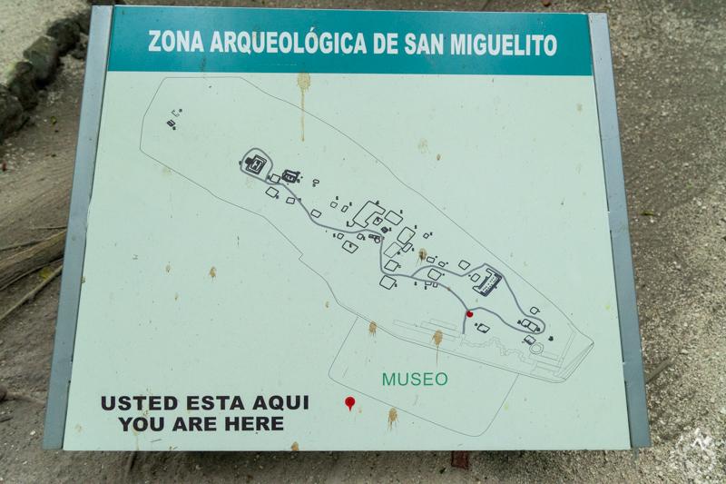 サン・ミゲリート遺跡は、4つのコンプレックスで分かれている