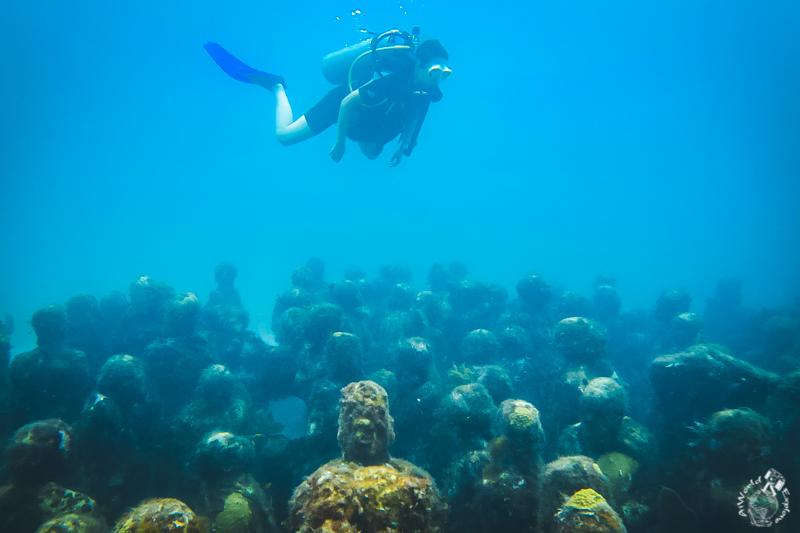 MUSA水中美術館カンクンでのダイビング