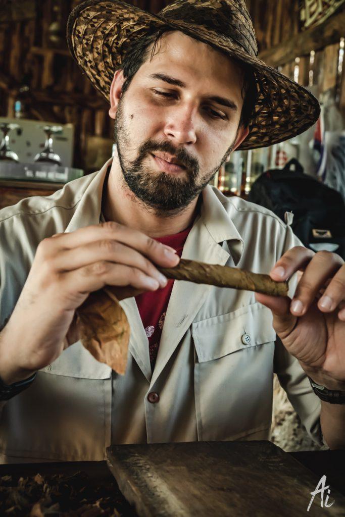 キューバのタバコファーム