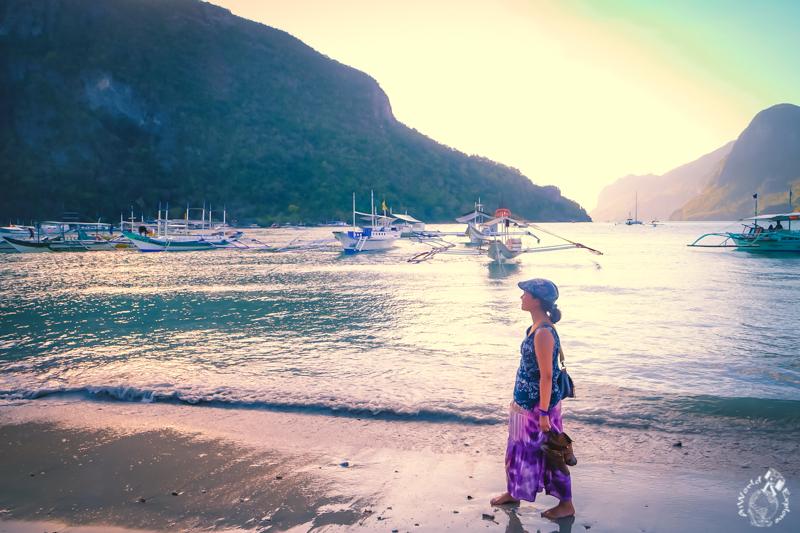 フィリピンのエルニドのビーチ