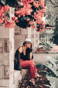 アルバニア人女性のポートレイト