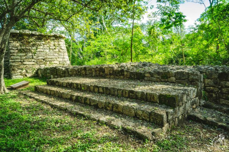 マヤ遺跡エクバラム