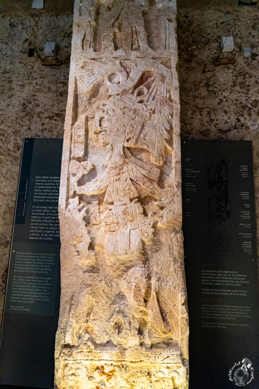Estela 3, Itzimté, Campeche 600-900 d.c