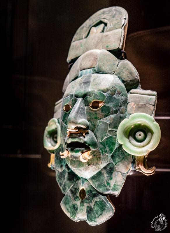 Máscara Rostoro Divino, Tomb1, Calakmul, 660-750 A.D