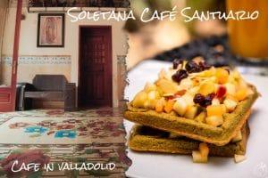 大きなお庭の中にあるカフェSoletana Café Santuario【バジャドリード・ユカタン】