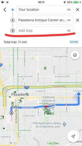 グーグルマップの使い方